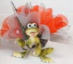Article baptême fantaisie : grenouille