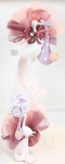 Article baptême classique : cygogne et bébé