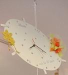 Cadeau artisanal : horloge personnalisée