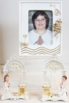 Cadeau de communion : porte photo