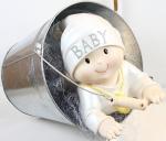 Cadeau de naissance : souvenir bébé dans seau