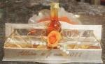 Présentoir et montage : verres dans panier en bois